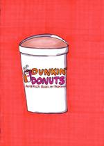Dunkin Donuts 1 - Orange