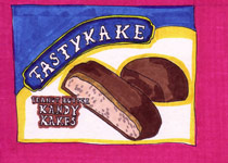Tastykake Kandy Kakes - 5x7 inches