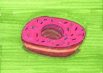 Pink Donut