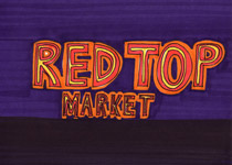 Red Top Market - 5x7 inches